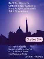 Image for 3rd and 4th Grade Windeatt Study Guides