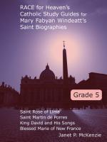 Image for 5th Grade Windeatt Study Guides