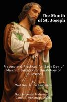 Image for The Month of St. Joseph: Prayers and Practices for Each Day of March in Imitation of the Virtues of St. Joseph