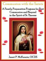 Image for Communion with the Saints, A Family Preparation Program for First Communion and Beyond in the Spirit of St. Therese